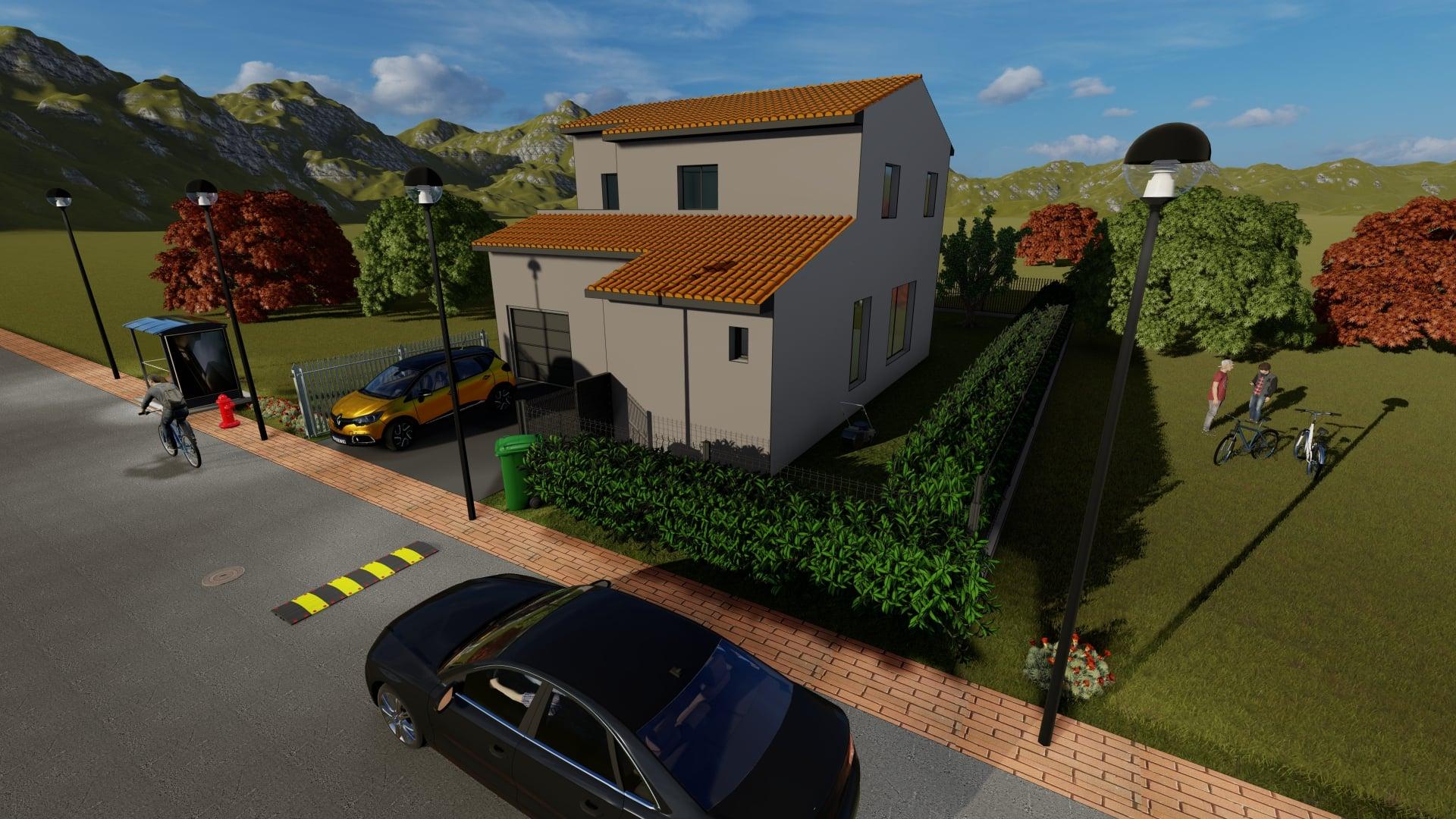 Maison 3D